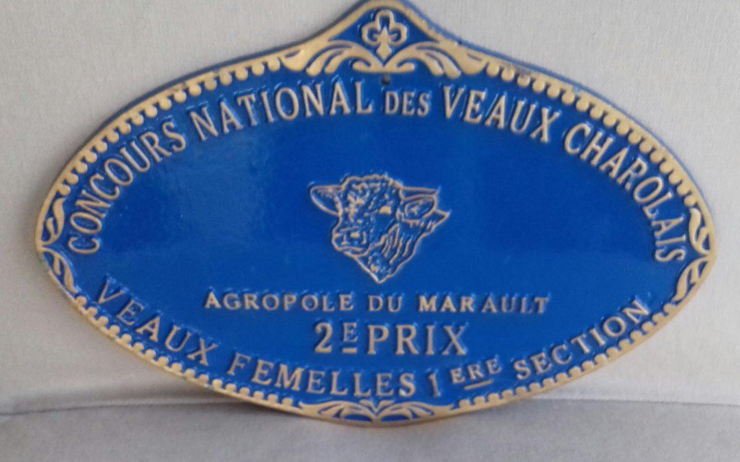 DEUXIEME PRIX AU CONCOURS NATIONAL